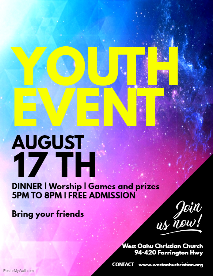 2018 Youth Nite v2 Copy of Event Flyer - Made with PosterMyWall