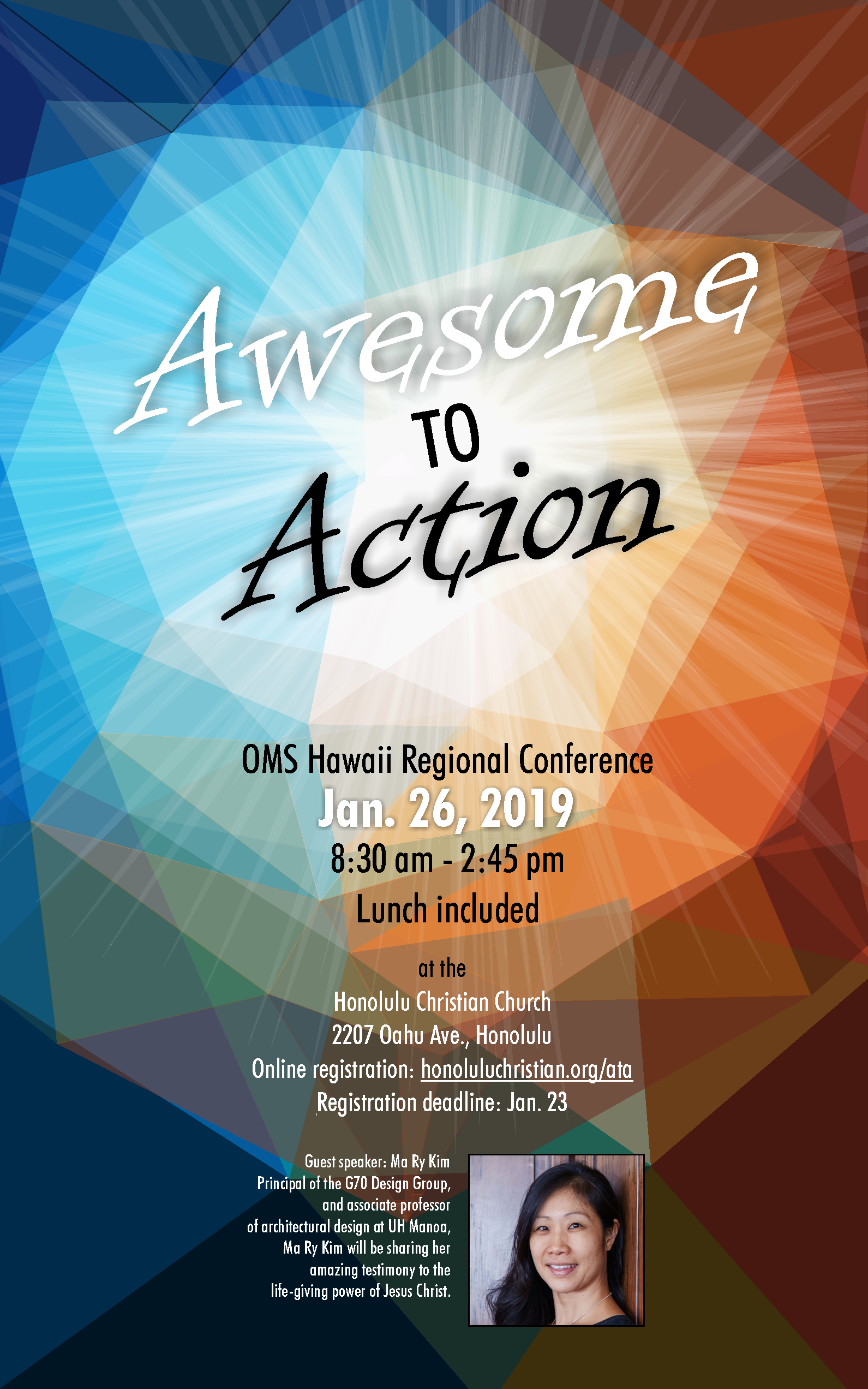 2019 Regional Conference poster